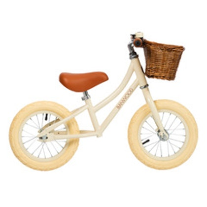 Banwood, Balanscykel First Go, cream springcykel