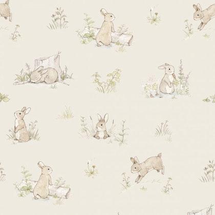 Tapet Rabbit day beige