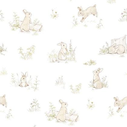 Tapet Rabbit day classic