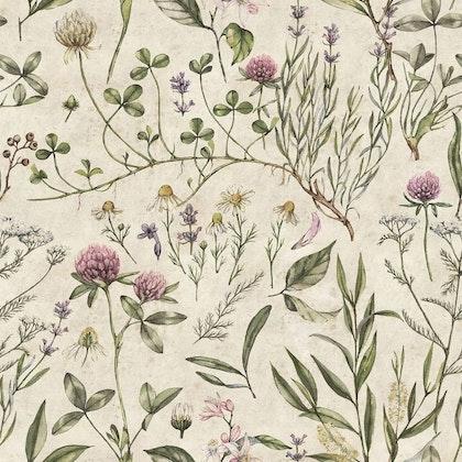 Tapet Vintage Botanic