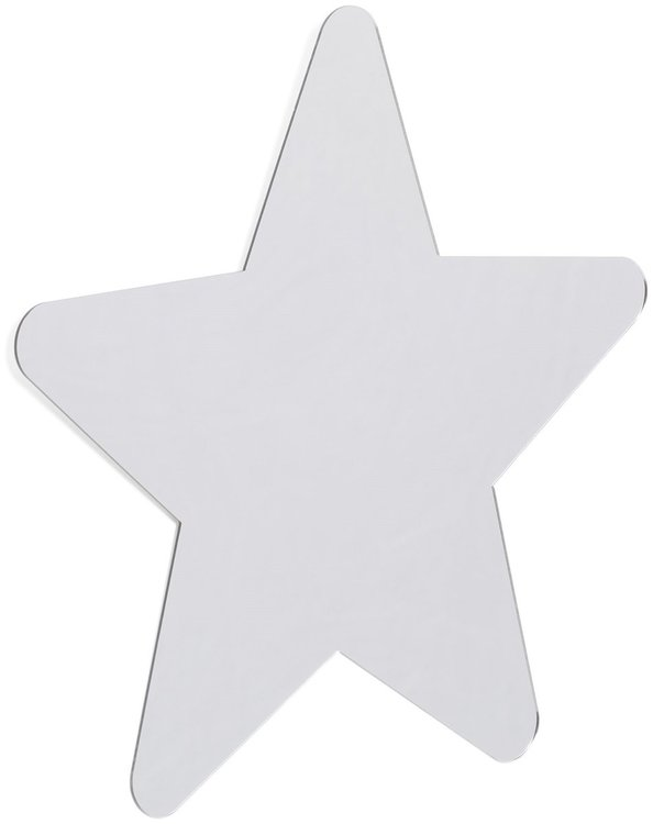 Simple Star- Spegel, Barnspegel till barnrummet