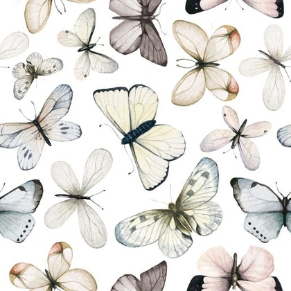 Tapet fjärilar