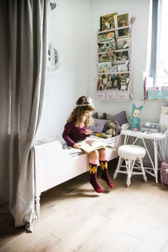 Lilu, skrivbord i rotting  till barnrummet, dirty mint