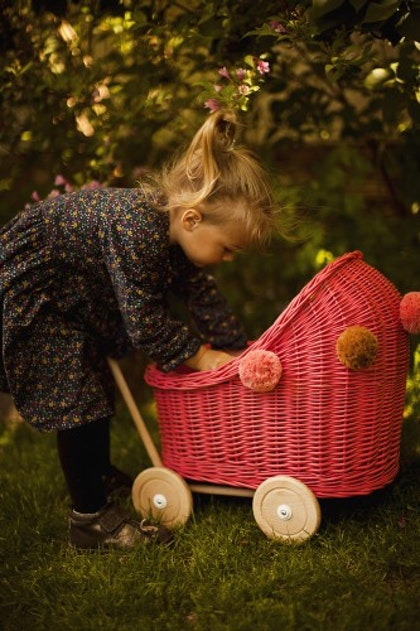 Lilu, dockvagn i rotting, watermelon
