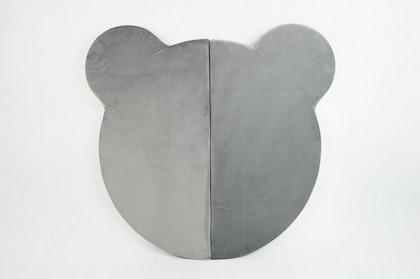 Misioo, Stor och flexibel lekmatta , grå björn