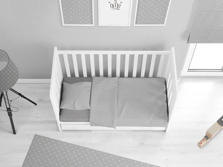Babylove, Mörkgrå påslakanset 90x160 till juniorsäng/barnsäng