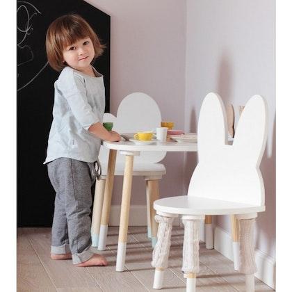 Möbelset kaninstol+ molnbord, Möbelset till barnrummet