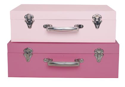 Jabadabado, Koffert rosa 2-pack