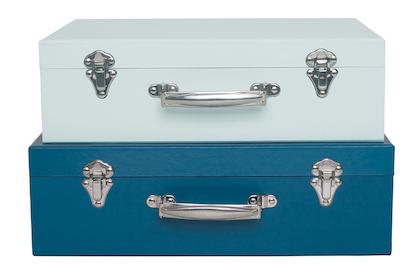 Jabadabado, Koffert blå 2-pack