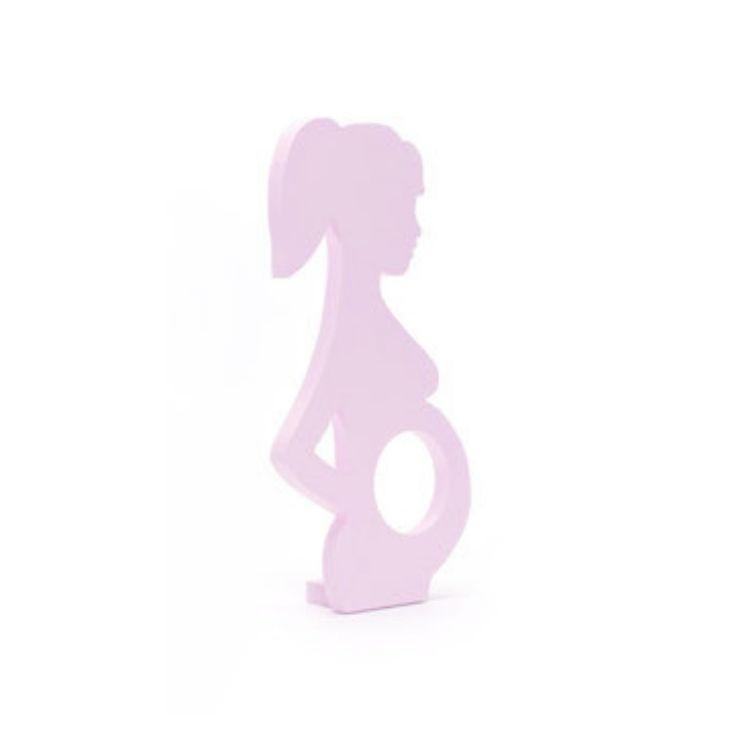 Fotoram Gravid rosa för ultraljudsbild