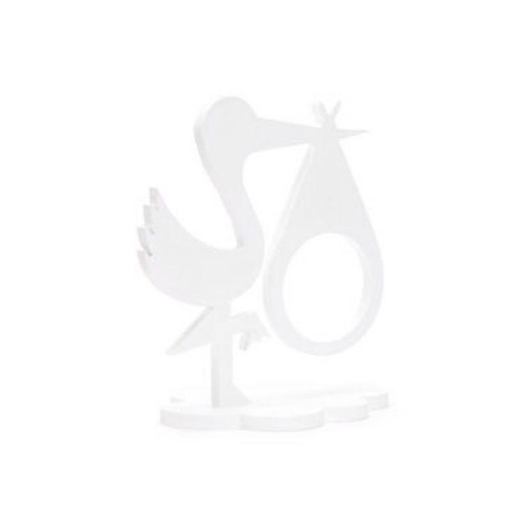 Fotoram Stork vit för ultraljudsbild för ultraljudsbild