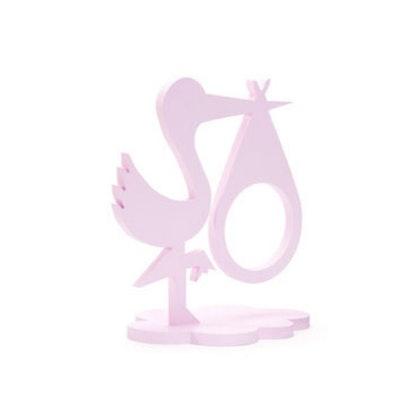 Fotoram Stork rosa för ultraljudsbild