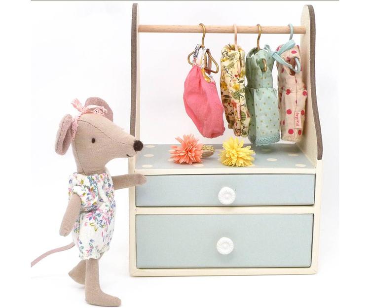 Maileg, Garderob Mint Micro