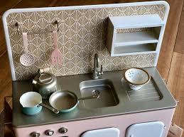 Maileg, pastellrosa kök med tillbehör