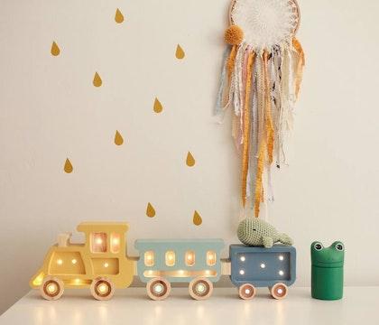 Little Lights, Nattlampa till barnrummet,  Tåg