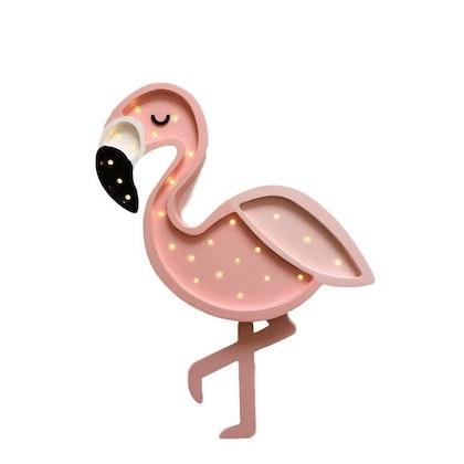 Nattlampa till barnrummet flamingo, Little Lights