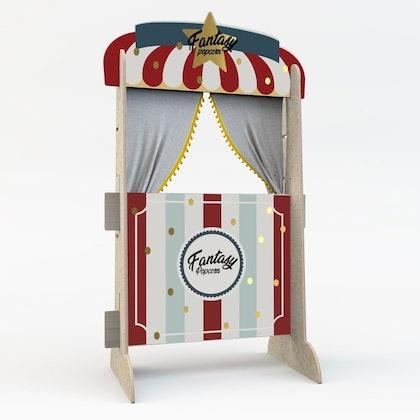 Dekornik, Dockteater Popcorn Shop