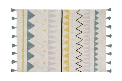Lorena Canals, Matta Aztec Vintage Blue