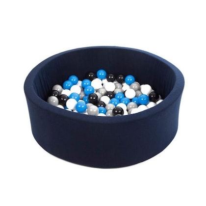 Mörkblå bollhav BASIC, 90x30
