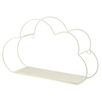 Sass & Belle, vit hyla moln till barnrummet