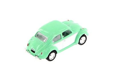 Leksaksbil Volkswagen pastell classic beetle mini mint