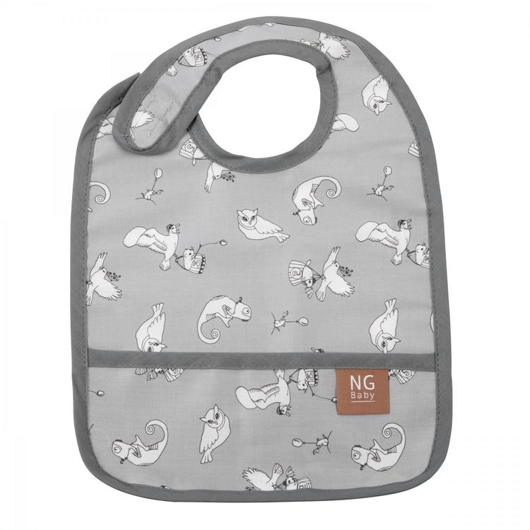 Haklapp ,Wood & Fairytales Grey, NG Baby
