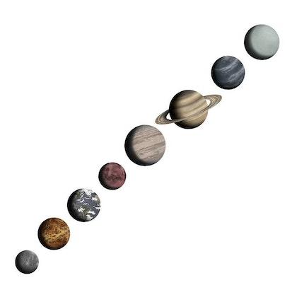 Stickstay, Solar system väggklistermärken