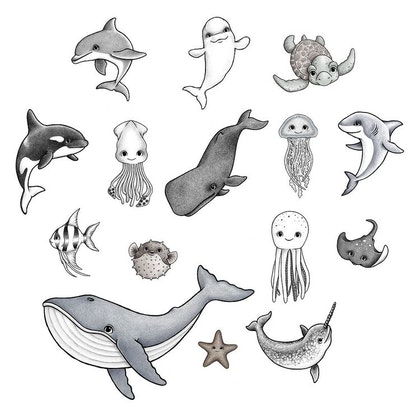 Stickstay, Ocean Friends