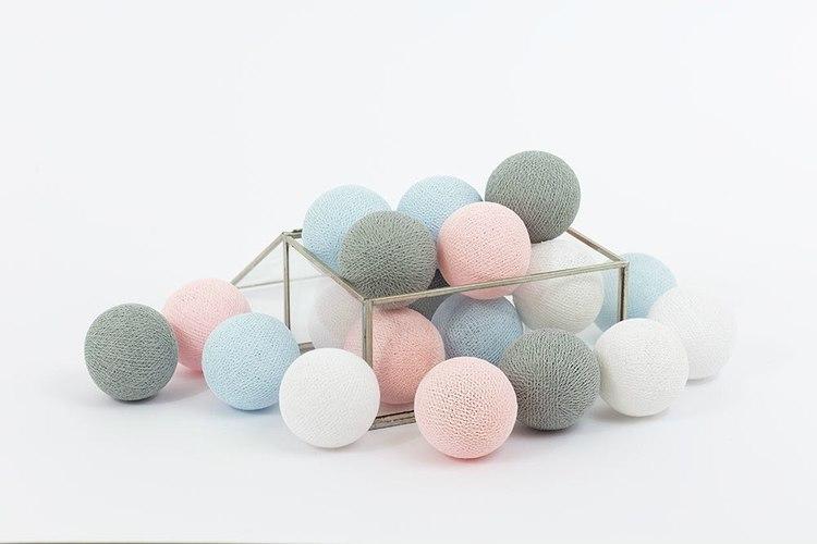 Ljusslinga Pastel Candy, Cottonlove