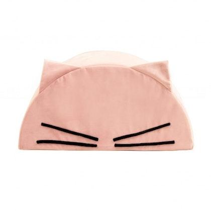 Fayne, sittpuff till barnrummet rosa katt