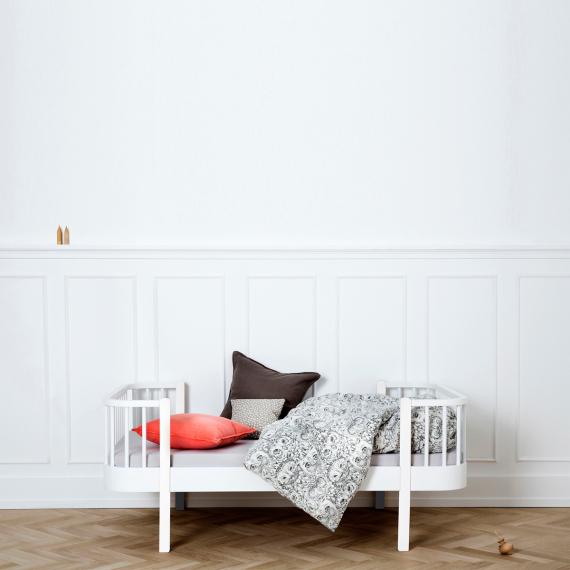 Oliver Furniture, juniorsäng vit