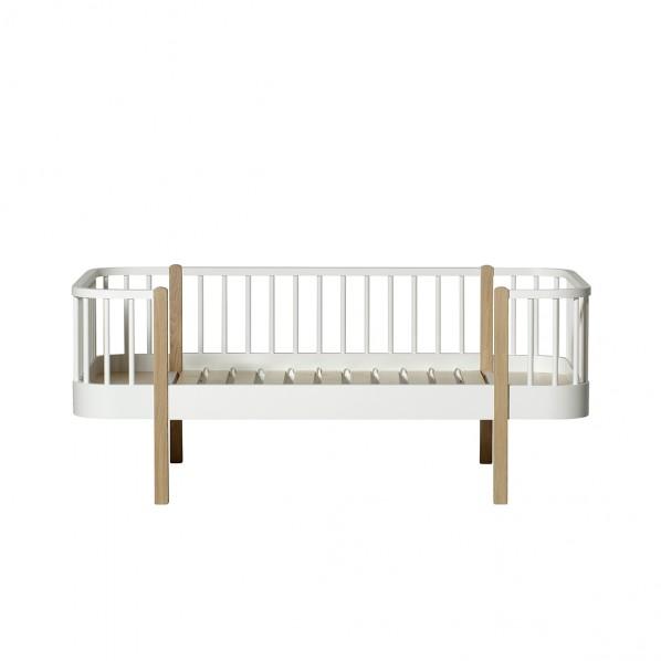 Oliver Furniture, dagbädd junior vit/ek