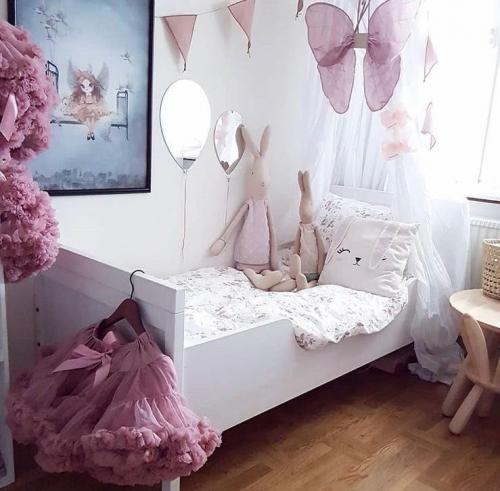 Spegel ballong till barnrummet
