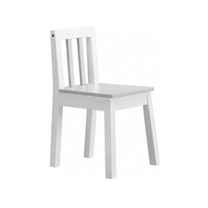 Kids Concept, vit/grå stol line