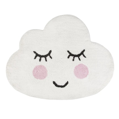 Sass & Belle, matta till barnrummet moln