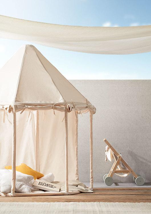 Kids Concept, paviljong tält naturvit