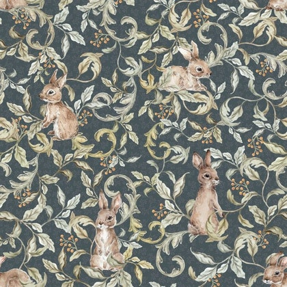 Dekornik, Tapet rabbits groove dark