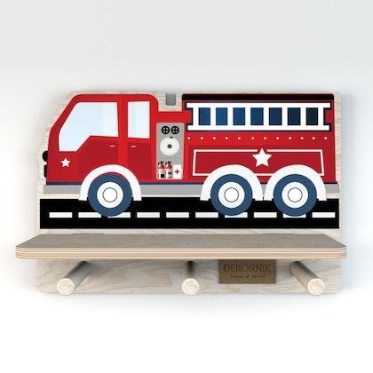Dekornik, hylla brandbil