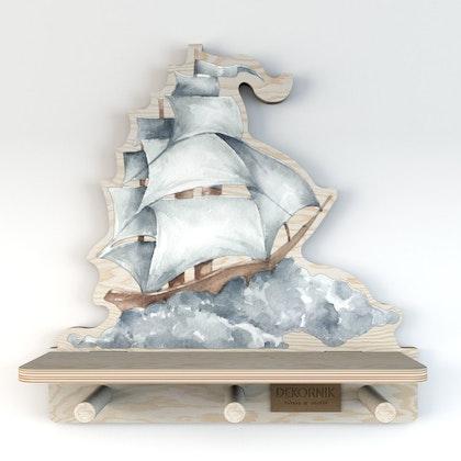 Dekornik, hylla skepp