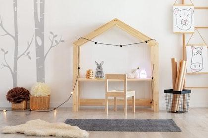 Skrivbord till barnrummet Trä/Natur