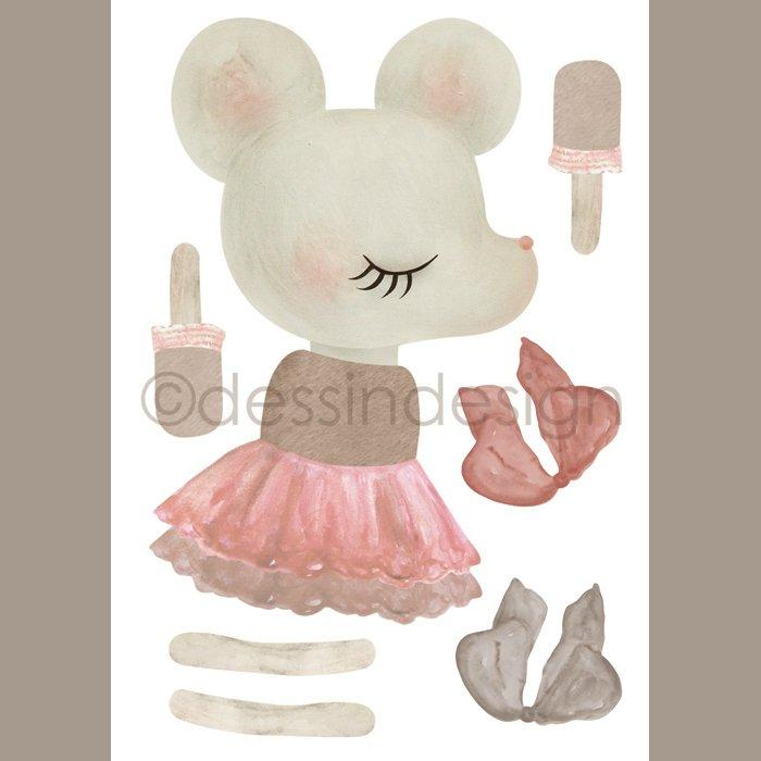 Dessin Design, vimpel DIY - mouse