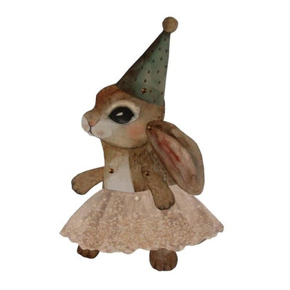 Dessin Design, vimpel DIY - Brown bunny