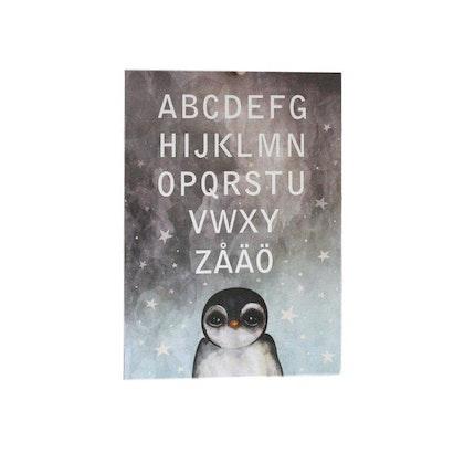 Dessin Design, poster ABC penguin A3