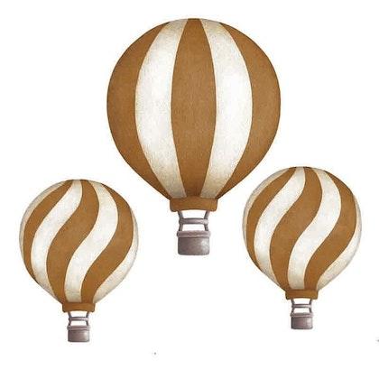 Mustard Luftballonger vintage väggklistermärken, Stickstay