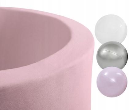 Misioo, rosa bollhav smart, 150 bollar  (silver/light pink pearl/white)