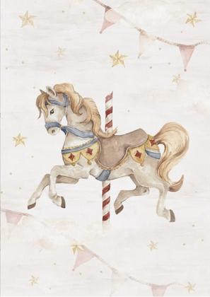 Poster magisk häst, poster till barnrummet