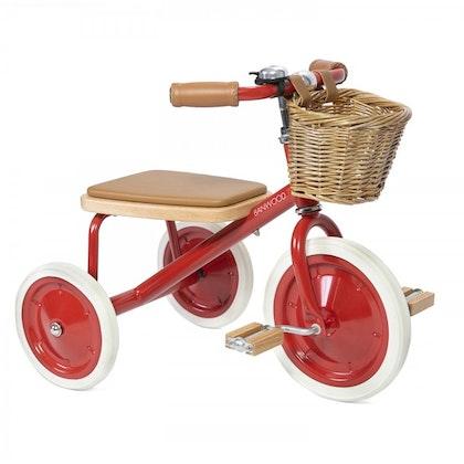 Banwood Trike -  trehjuling röd