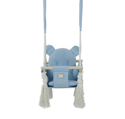 Misioo, blå babygunga till barnrummet