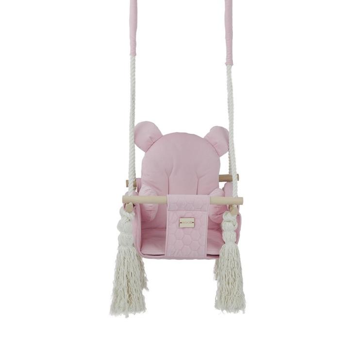 Misioo, rosa babygunga till barnrummet