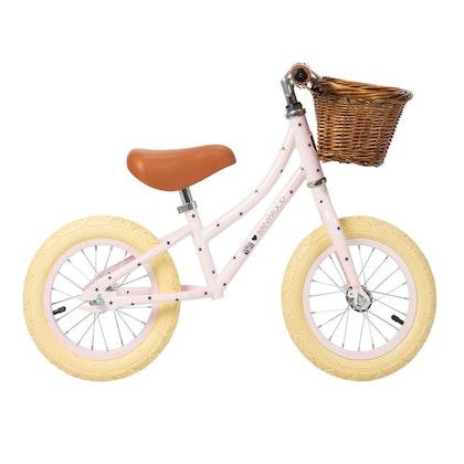 Banwood, Balanscykel First Go, Bonton R rosa springcykel